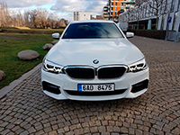 Car rental BMW 530 Xd in Prague