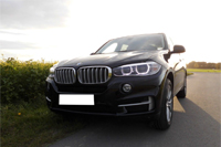 Car rental BMW X5 in Prague