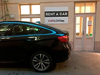 Car rental BMW X6 in Prague