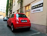 Car rental Fiat 500 AT in Prague