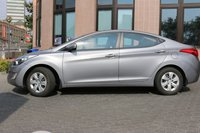 Car rental Hyundai Elantra in Prague