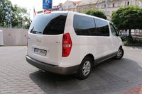 Car rental Hyundai H-1 in Prague