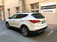 Car rental Hyundai Santa Fe in Prague