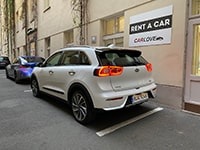 Car rental Kia Niro Hybrid in Prague