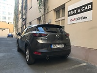 Car rental Mazda CX-3 in Prague