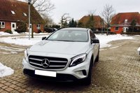 Car rental Mercedes GLA in Prague
