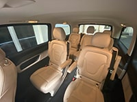 Car rental Mercedes V-class in Prague