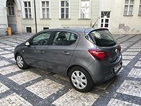 Car rental Opel Corsa AT in Prague