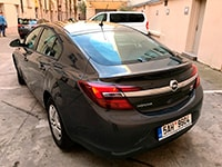 Car rental Opel Insignia in Prague
