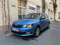 Car rental Škoda Fabia III AT in Prague