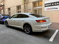 Car rental Volkswagen Arteon R-line in Prague