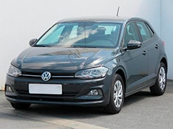 Car rental Volkswagen Polo in Prague