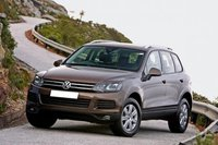 Car rental Volkswagen Touareg in Prague