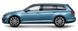 Car rental VW Passat Combi 4WD in Prague