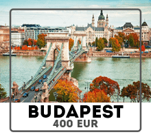 Car rental from Prague to Budapest