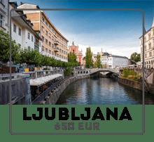 Car rental Prague to Lyublyana