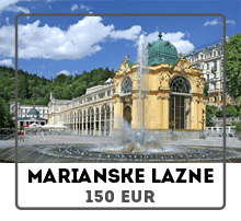 Car rental from Prague to Marianske Lazne