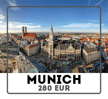 Car rental from Prague to Munich