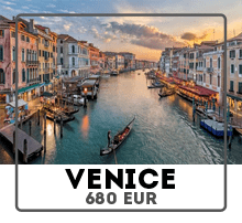 Car rental from Prague to Venice