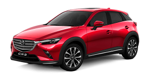 Car rental Mazda CX3 NEW in Prague