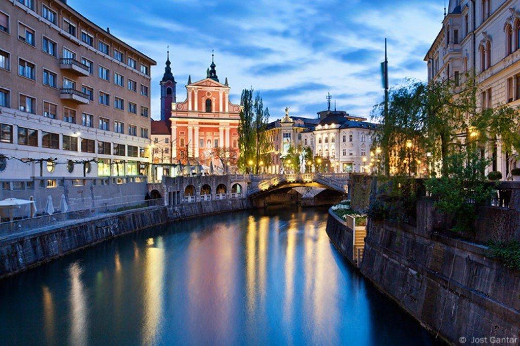 Поездка на авто из Праги в Любляны