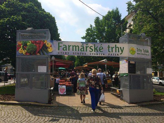Рынок на площади Республики Прага