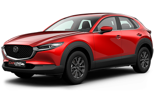 car Mazda CX 30 rental prague